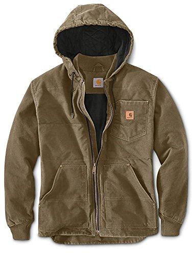Carhartt Chapman Jacket Hell Braun XXL (Duck Carhartt Kapuze)