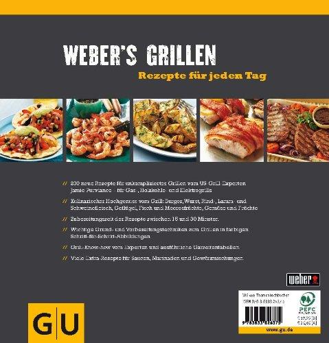 51PAxfGrGUL - Weber's Grillen: Rezepte für jeden Tag (GU Weber's Grillen)