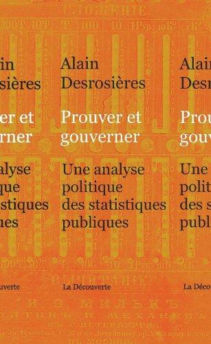 Prouver et gouverner par Alain DESROSIÈRES