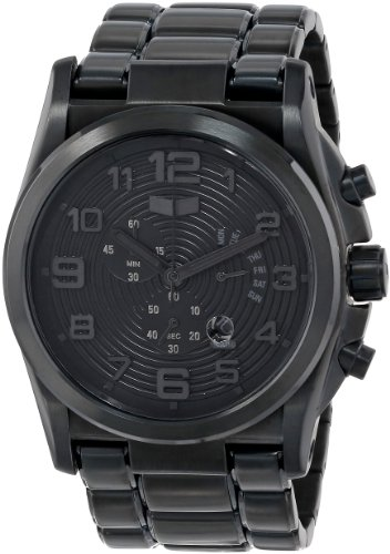 Vestal Men's De Novo Black Watch DEV004