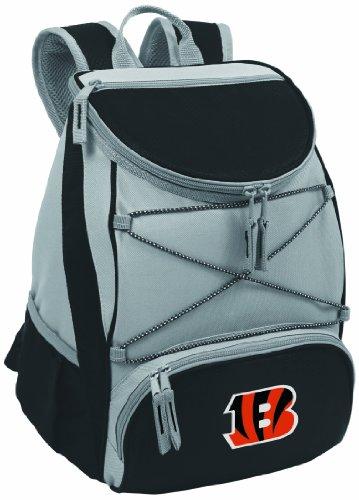 Picnic Time NFL Cincinnati Bengals PTX isoliert Rucksack Kühler, schwarz (Bengals-rucksack)