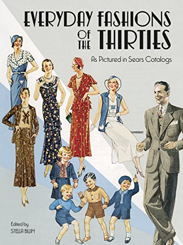 Everyday Fashions of the Thirties as Pictured in -