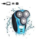 iXpro Elektrischer Rasierapparat-Rasierer-trockener nasser Gesichtshaar-Trimmer für Männer wasserdichtes USB-wieder aufladbares drahtloses