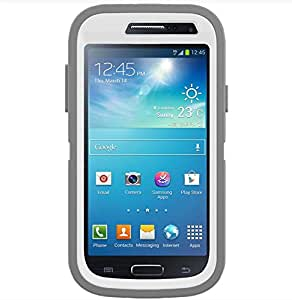 OtterBox Defender Case for Samsung Galaxy S 4 Mini - Retail Packaging - White