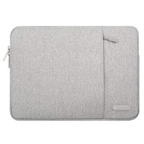 MOSISO Hülle Kompatibel iPad Air 3 10,5 2019, iPad Pro 9,7-11 Zoll, Surface Go 2018, iPad Air 2/Air (iPad 6/5), iPad 1/2/3/4 Wasserabweisende Polyester Vertikale Laptoptasche, Grau - Kindle Fall Hd 9 Fire