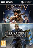 Crusader Kings II and Europa Universalis IV Twin Pack (PC DVD) [Edizione: Regno Unito]