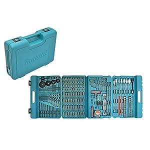 Makita P-44046 Drill, Juego de Brocas, 216 Pieza(s), 0 W, 0 V, Set