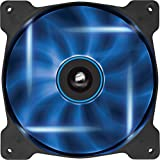 Corsair CO-9050026-WW Air Series SP140 LED 140mm Low Noise High Pressure LED Fan Single Pack, Blue