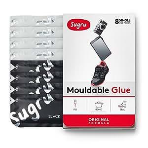 Sugru pasta adesiva modellabile - Formula Originale - Bianco e nero (8 confezioni monodose)