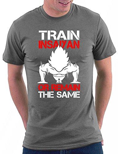 Super Saiya Gym Goku Dragonball T-shirt Darkgrey