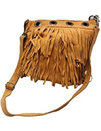 SS Leathers Pure Leathers Lace Messanger Bag For Girls
