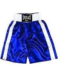Everlast Pro 24` - Pantalones de boxeo, color Azul/Blanco, talla M