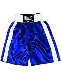 Everlast Pro 24` - Pantalones de boxeo, color Azul/Blanco, talla L