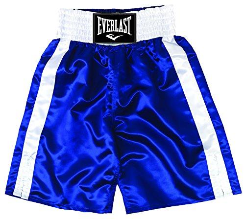 Everlast Erwachsene Boxen-Shorts, Blau/Weiß, L