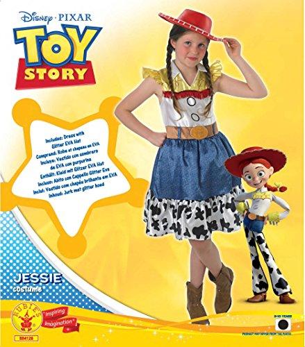Imagen de rubie's–disfraz oficial de disney, toy story, de jessie, con falda juvenil, para niños de 9–10años alternativa