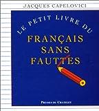 Le Petit livre du français sans fautes