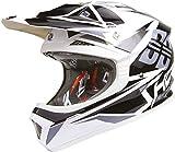 SHOT FURIOUS FUSION Helm mit DD sw./grau/weiss XL