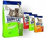 Happy Cat INDOOR Weide Lamm 10 kg + 3 x 300g.