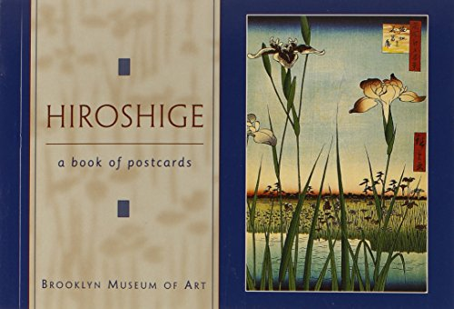 Hiroshige Book of Postcards Aa106: Postcard Book