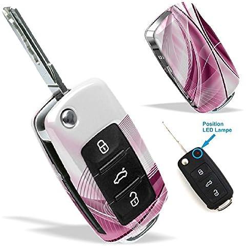 La cobertura de la llave de SEAT VW SKODA con Diseño fantasy 1