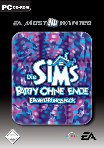 Die Sims: Party ohne Ende (Add-On) [EA Most Wanted] (Sims Party)