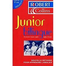 Le Robert & Collins : Junior bilingue - Dictionnaire français-anglais, anglais-français
