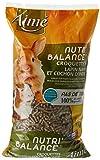 AIME Repas complet pour Lapin nain et Cochon d'Inde, Croquettes 100% des Apportés Conservés, Sac de 1kg