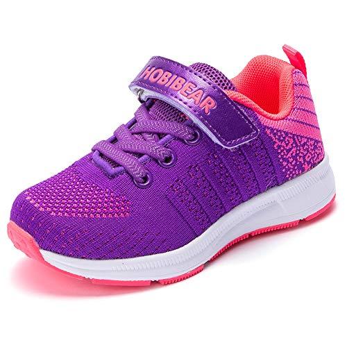 populalar Turnschuhe Kinder Sneaker Jungen Sportschuhe Mädchen Hallenschuhe Outdoor Laufschuhe Für Unisex-Kinder Schwarz Rosa Blau Pink 30 EU -