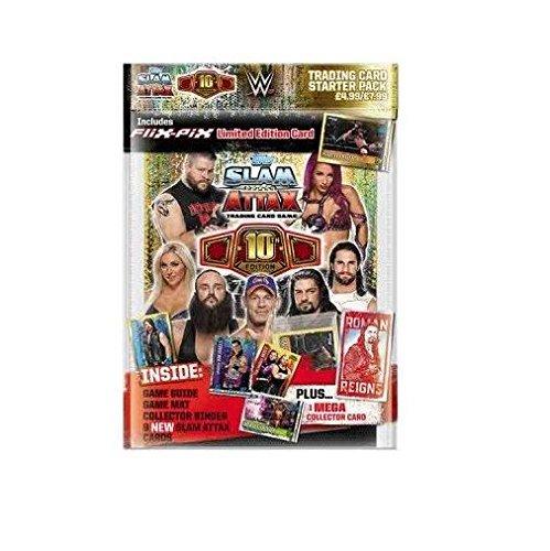 Carte Slam Attax 10th edition Peyton Royce !!! Sport Trading Cards