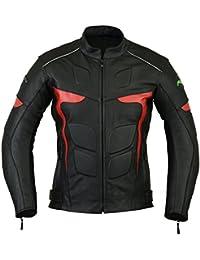 RIDEX para hombre con estampado de LJ-2R adaptador de motorista con una chaqueta de cuero fassinas por diseño de motocicletas antiguas