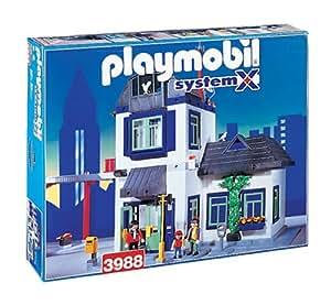 Playmobil 3988 commissariat [Jouet]