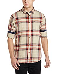 Arrow Mens Casual Shirt (8907538729224_AJUSH1828_40_Beige)