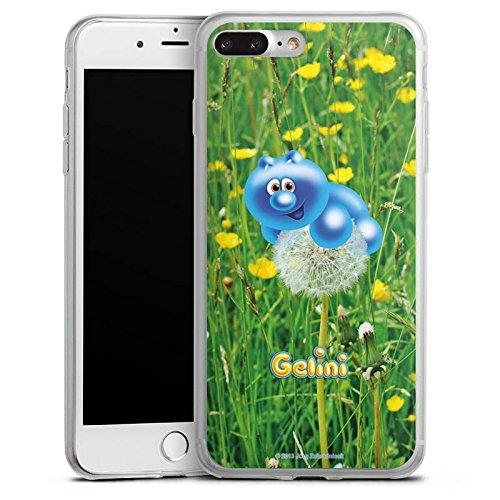 Apple iPhone 8 Slim Case Silikon Hülle Schutzhülle Gelini Gummibärchen Pusteblume Silikon Slim Case transparent