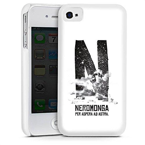 Apple iPhone 5s Housse Étui Protection Coque Nuages Noir Blanc Cas Premium mat