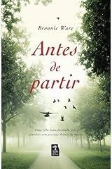 Antes De Partir (Em Portuguese do Brasil) Paperback