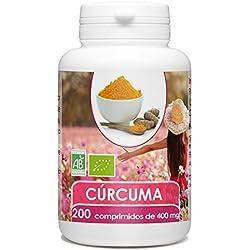 Cúrcuma Orgánico - 200 comprimidos