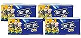 Tempo Taschentücher Kids, 4-lagige Papiertücher in bewährter Tempo Qualität mit lustigen Motiven, 36 x 5 Tücher (4 Packungen à 9 Päckchen)