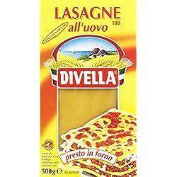 Divella Pasta per Lasagne all'Uovo - 500 gr