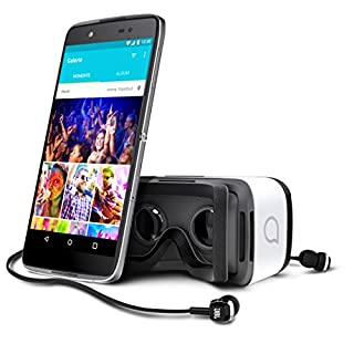 Alcatel Idol 4+ Smartphone (13,2 cm (5,2 Zoll) Touch-Display, Android, 16 GB internen Speicher, Android OS) dunkel grau