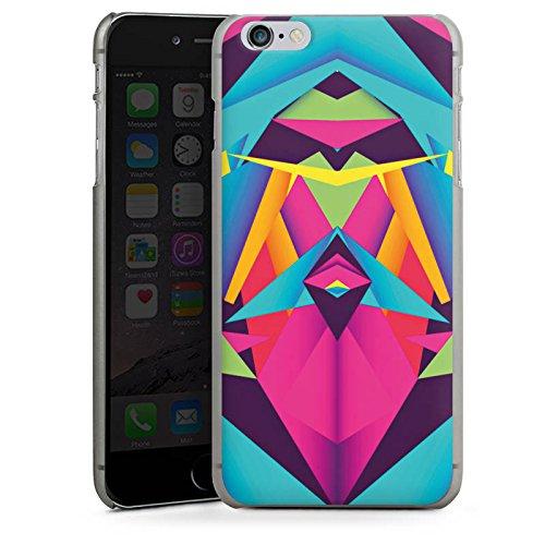 Apple iPhone 5 Housse étui coque protection Couleurs sympas Triangles Triangles CasDur anthracite clair