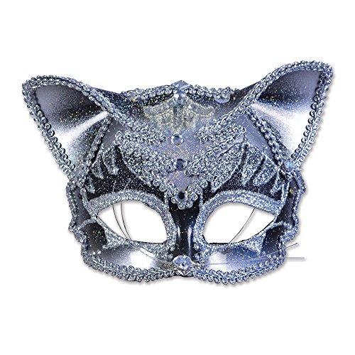 Bristol Novelty EM419 Katze Augenmaske, Bunt