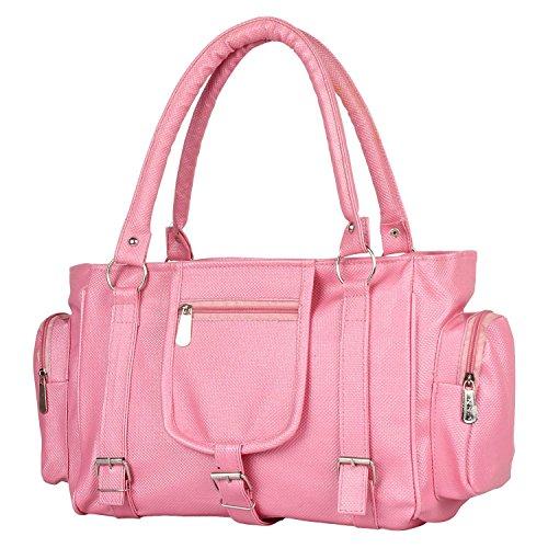 TipTop Women's Handbag (Baby Pink)