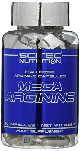 #Scitec Nutrition Mega Arginine, 140 Kapseln, 1er Pack (1 x 206,6 g)#