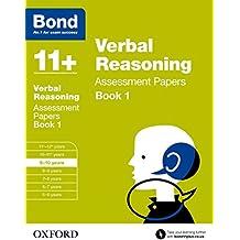 Bond 11+: Verbal Reasoning Assessment Papers: 9-10 years Book 1