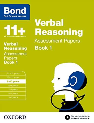 Bond 11+: Verbal Reasoning: Assessment Papers: 9-10 years Book 1