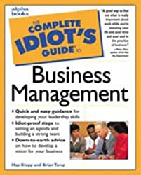 Cig: To Managing A Business (Complete Idiot's Guides)
