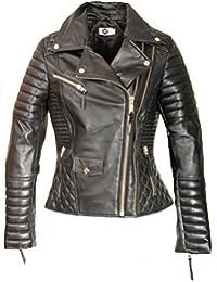 Be Noble ECHT-Lederjacke mit abnehmbarem Lammfell-Kragen in schwarz -  Helsinki b7f70a7b62