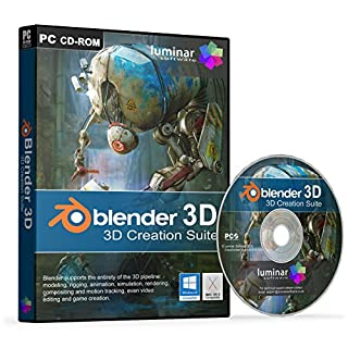 Blender 3D - Professional 3D Creation Suite - Modeling, rigging, animation, rendering and more! - BOXED AS SHOWN