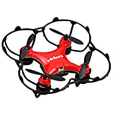 Virhuck GB202 Mini Pocket Quadcopter Drone, 2,4 GHz, 6 AXIS GYRO, 3