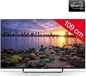 SONY BRAVIA KDL - 43W755C LED Smart TV kit Support mural 920003 Câble HDMI